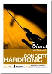 Blend Hardronic 2008 ePoster